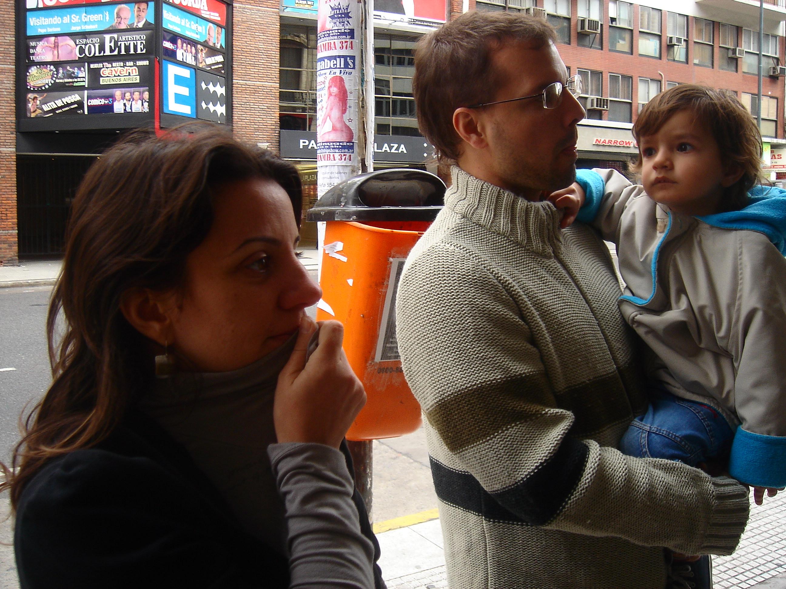Mai, Ramiro e Nino