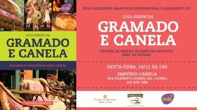 Convite Gramado e Canela