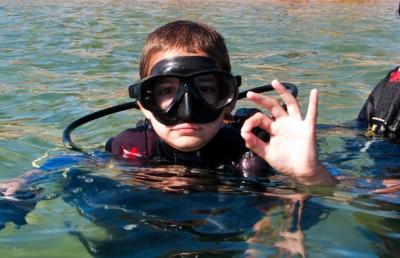 Mergulho Autonomo Para Crianças