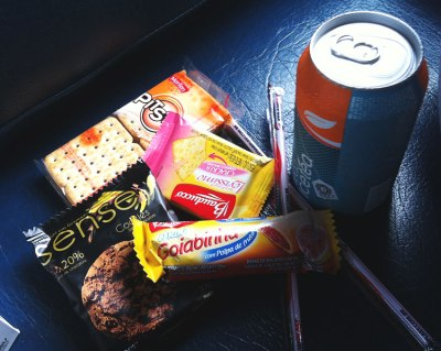 Lanche do trem