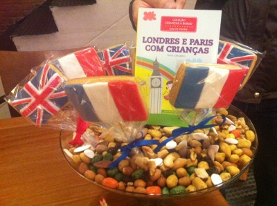 lançamento Londres e Paris