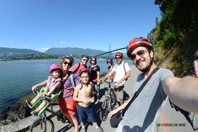 Família de bike