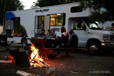 Fogueira camping
