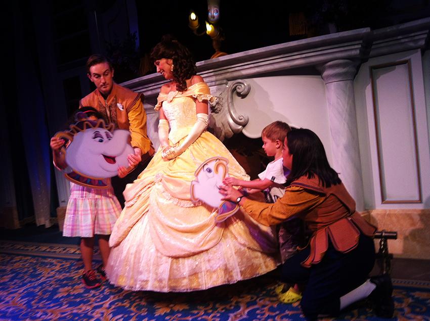 Bela na Disney