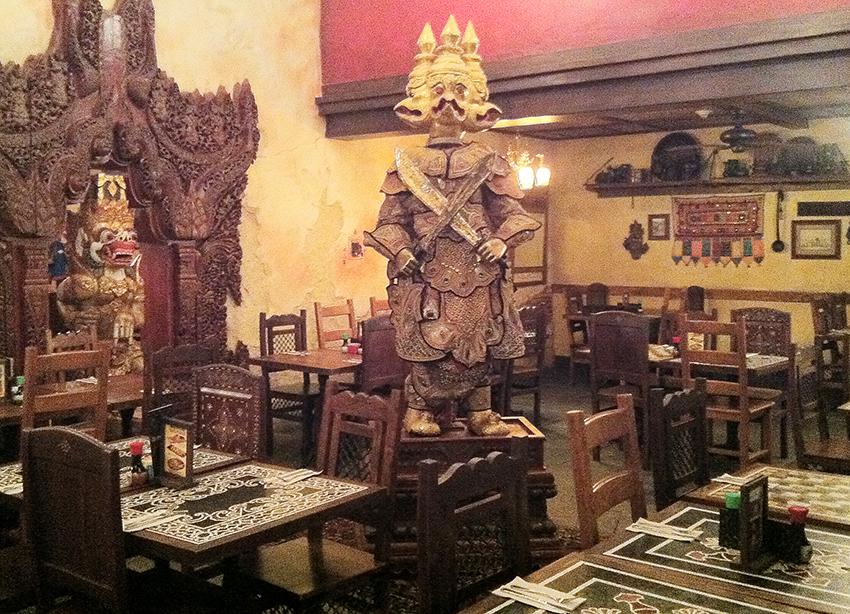 Restaurante asiático Disney