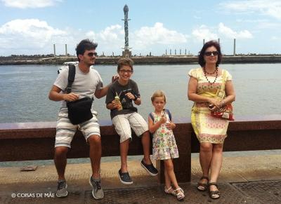 Marco Zero e Parque das Esculturas