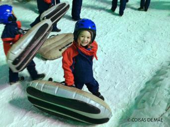 Snowland Crianças Pequenas