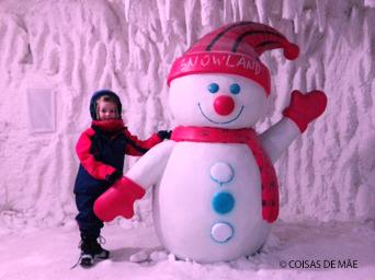 Boneco de Neve - Snowland