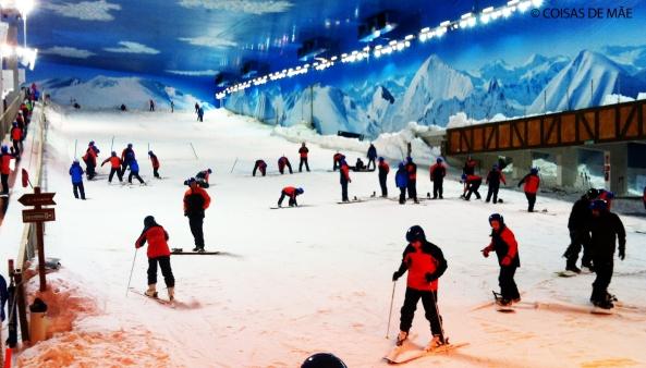 Esqui no Snowland, em Gramado