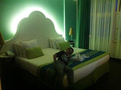 Quarto hotel Club Med